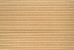 Textura do cartão ondulado Imagens de Stock