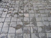 Textura do cimento como o fundo na casa dianteira fotos de stock royalty free