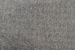 Textura do cinza de lãs fotografia de stock