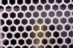 Textura do close up da grade do metal protetor para a proteção fotografia de stock royalty free