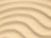 Textura do close up da praia da areia Fotos de Stock Royalty Free