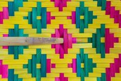 Textura do close up do fã da mão Foto de Stock Royalty Free