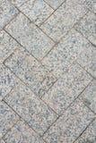 Textura do close up dos pavimentos Grey Square Pattern fotografia de stock royalty free