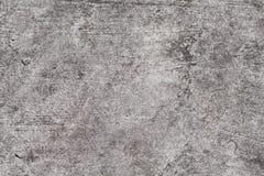 Textura do concreto de Grunge Foto cinzenta da opinião superior de estrada asfaltada Textura afligida e obsoleta do fundo Imagem de Stock Royalty Free