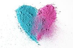 Textura do coração Imagens de Stock