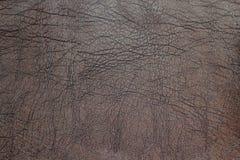 Textura do couro de Brown Imagem de Stock Royalty Free