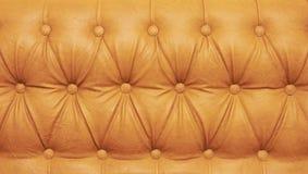 Textura do couro genuíno Fotos de Stock