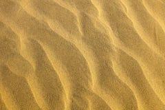 Textura do deserto da areia foto de stock