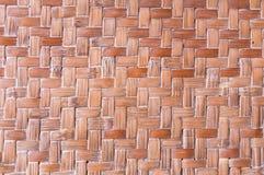 Textura do detalhe de bambu do artesanato Imagens de Stock Royalty Free
