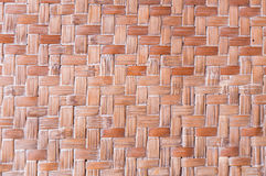 Textura do detalhe de bambu do artesanato Fotos de Stock Royalty Free