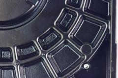 Textura do disco rígido do computador Fotografia de Stock