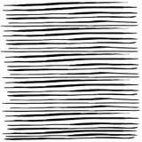 A textura do esboço alinha garatujas ilustração do vetor