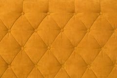 Textura do estofamento alaranjado Fotografia de Stock Royalty Free