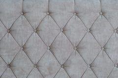 Textura do estofamento marrom Imagens de Stock