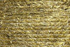 Textura do feno Fotos de Stock