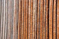 Textura do ferro gradualmente rùstica corrmoído Imagens de Stock