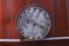 Textura do ferro oxidado fotos de stock