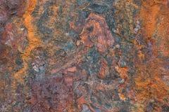 Textura do ferro oxidado Fotografia de Stock