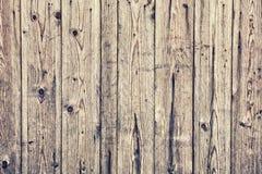 A textura do forro de madeira velho embarca a parede Imagens de Stock