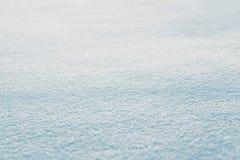 Textura do fundo abstrato vazio do inverno da neve Fotos de Stock Royalty Free