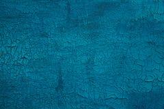 Textura do fundo azul de madeira Imagens de Stock