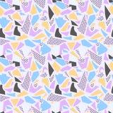 Textura do fundo com cores cor-de-rosa, roxas, azuis e amarelas Imagem de Stock Royalty Free