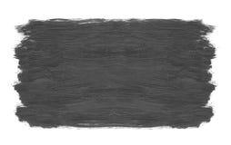 Textura do fundo do curso de Grey Brush isolada em um backgro branco Foto de Stock Royalty Free
