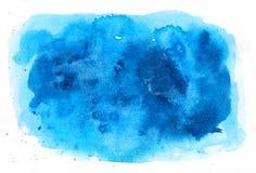 Textura do fundo da aquarela Foto de Stock