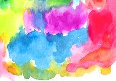 Textura do fundo da aquarela Fotografia de Stock Royalty Free