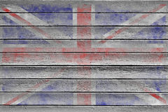 Textura do fundo da bandeira de união Fotos de Stock