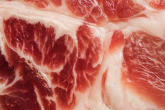 Textura do fundo da carne marmoreada Imagens de Stock Royalty Free