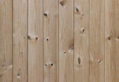 Textura do fundo da cerca da madeira de pinho Foto de Stock