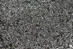 Textura do fundo da folha de alumínio Fotografia de Stock Royalty Free