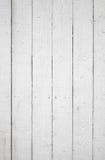 Textura do fundo da parede de madeira branca Fotos de Stock