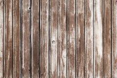 Textura do fundo da parede de madeira velha Fotos de Stock Royalty Free