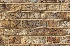 Textura do fundo da parede de tijolo Imagens de Stock
