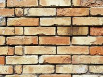 Textura do fundo da parede de tijolo Foto de Stock Royalty Free
