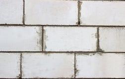 Textura do fundo da parede do bloco de cimento Fotografia de Stock