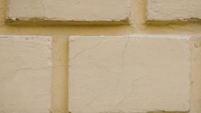 Textura do fundo da parede no movimento à direita filme