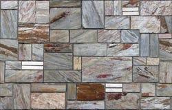 Textura do fundo da pedra, teste padrão contínuo Imagem de Stock