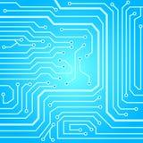 Textura do fundo da placa de circuito Imagem de Stock Royalty Free