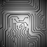 Textura do fundo da placa de circuito Imagem de Stock