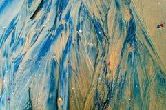 Textura do fundo da praia Foto de Stock Royalty Free