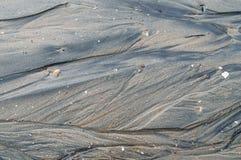 Textura do fundo da praia Fotos de Stock Royalty Free