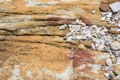 Textura do fundo da rocha Imagem de Stock