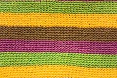 Textura do fundo das lãs Imagens de Stock