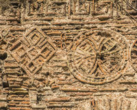 Textura do fundo das ruínas de Constantinople antigo fotografia de stock