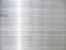 A textura do fundo de aço inoxidável Fotografia de Stock Royalty Free