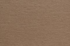 Textura do fundo de Brown do cartão Fotografia de Stock