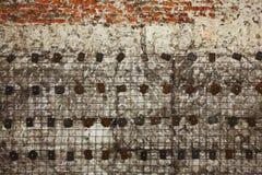 Textura do fundo de Grunge Abstraia o projeto de elementos do concreto, do tijolo e do metal Fotos de Stock